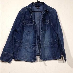 Venezia | 18/20 Dark wash Jean jacket blazer